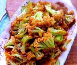 家常菜系之鱼香菜花的做法