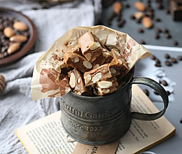 #福气年夜菜#咖啡焦糖海盐杏仁糖的做法