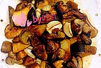 蚝油三菇的做法