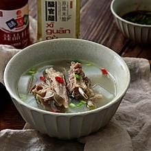 不油腻,无膻味—— 清炖羊排萝卜汤