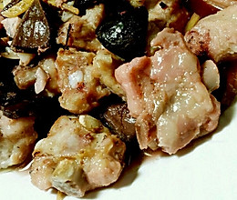地方美食【榄角蒸肉排】的做法