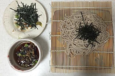 日本荞麦冷面 ざるそば