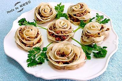 玫瑰蒸饺#我买新鲜味#