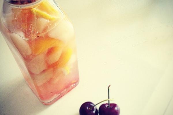 蜜桃糖水的做法