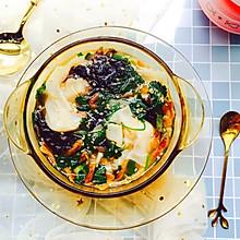 #洗手作羹汤#味蕾满足—酸汤鲜肉大馄饨