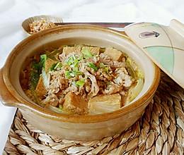 肥牛豆腐白菜锅的做法