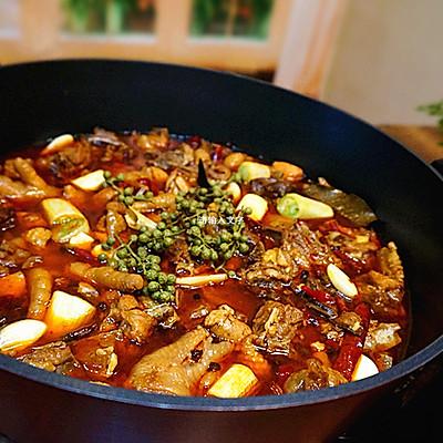 香辣土鸡煲