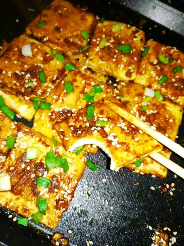 小白都可以做:香煎豆腐的做法
