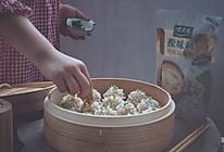 虾仁鲜肉珍珠丸子的做法