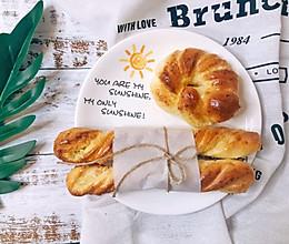 香喷喷的椰蓉奶棒面包 椰蓉面包的做法