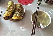 天津绿豆面煎饼果子的做法