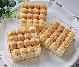 #夏日消暑,非它莫属#香甜不腻,豆香浓郁的豆乳盒子蛋糕的做法