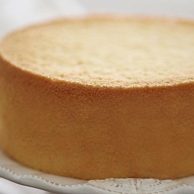 6寸原味戚风蛋糕