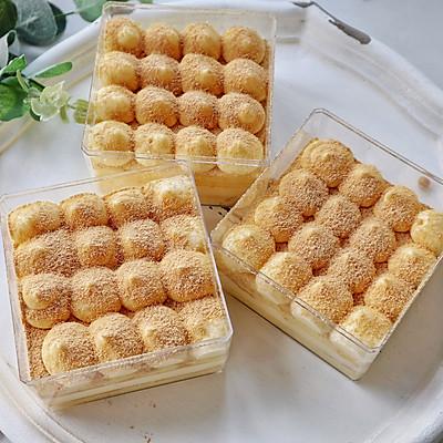 香甜不腻,豆香浓郁的豆乳盒子蛋糕