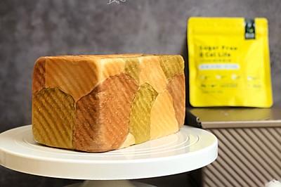 面包日记丨京都三色吐司【波兰种】