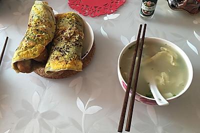 天津绿豆面煎饼果子