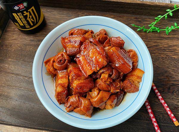百叶结烧肉的做法