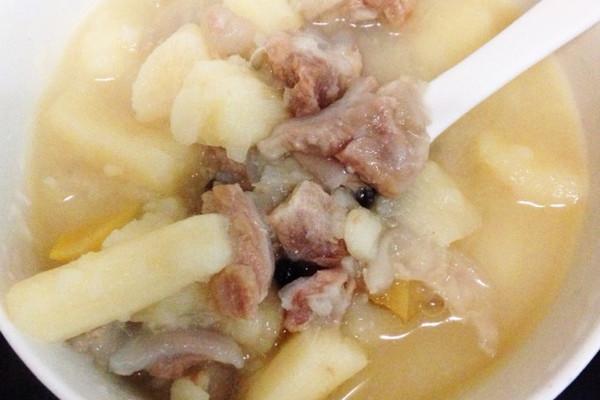 淮山脆骨汤的做法
