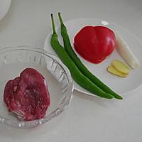 小炒牛肉的做法图解1