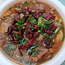 水煮肉片又滑又嫩猪肉版