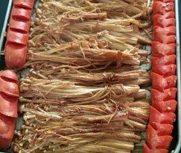 烤盘金针菇的做法