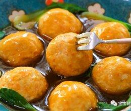 豆腐肉丸子 宝宝辅食食谱的做法