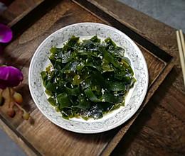 #爽口凉菜,开胃一夏!#凉拌海带的做法