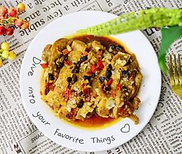 低脂健康蒜香豉汁蒸鸡腿肉-下饭菜的做法