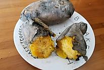 野外烤红薯的做法