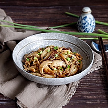 菌菇炒肉丝