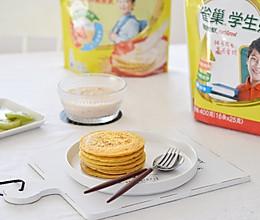 雀巢学生早餐:奶香杂粮饼的做法