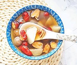 #洗手作羹汤#山药红枣桂圆汤:深秋时节的养颜补血汤的做法