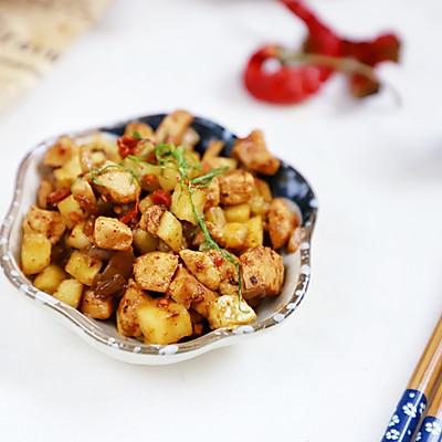 吃肉也减肥:香辣黄瓜鸡丁,家常快手减肥菜