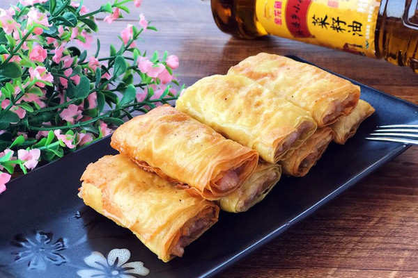 脆炸响铃#金龙鱼外婆乡小榨菜籽油 最强家乡菜#的做法
