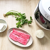 开胃补钙的蟹柳豆腐粥的做法图解1
