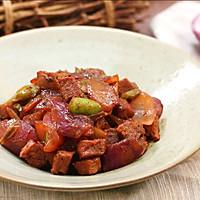 黑椒牛肉粒—迷迭香的做法图解9