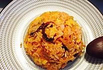 辣白菜腊肠炒饭的做法