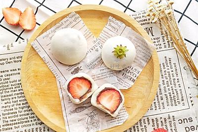 #春季食材大比拼#草莓大福