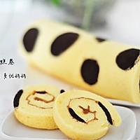 奶牛蛋糕卷【附擀面杖卷蛋糕卷方法】的做法图解34