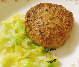 【宝宝辅食12+】牛肉汉堡肉饼的做法