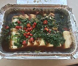 锡纸盒内脂豆腐的做法