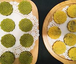 自制豆沙馅绿豆糕的做法