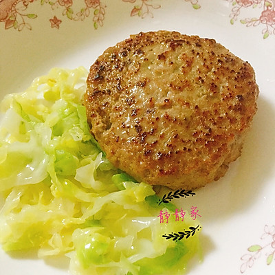 【宝宝辅食12+】牛肉汉堡肉饼