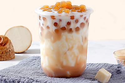 热饮︱芋泥波波奶茶