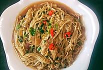 #美食视频挑战赛# 蚝油金针菇的做法