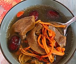 虫草猪肝汤的做法