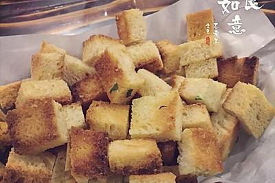蒜香黄油小面包(吃不下的吐司别浪费