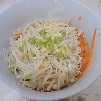 胡萝卜拌金针菇的做法图解7