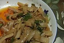 重庆辣椒鸡蛋老干妈炒河粉的做法