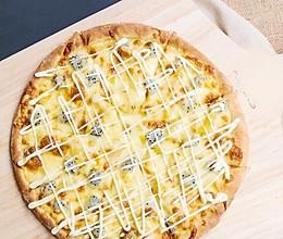 清爽水果披萨~巨好吃的做法